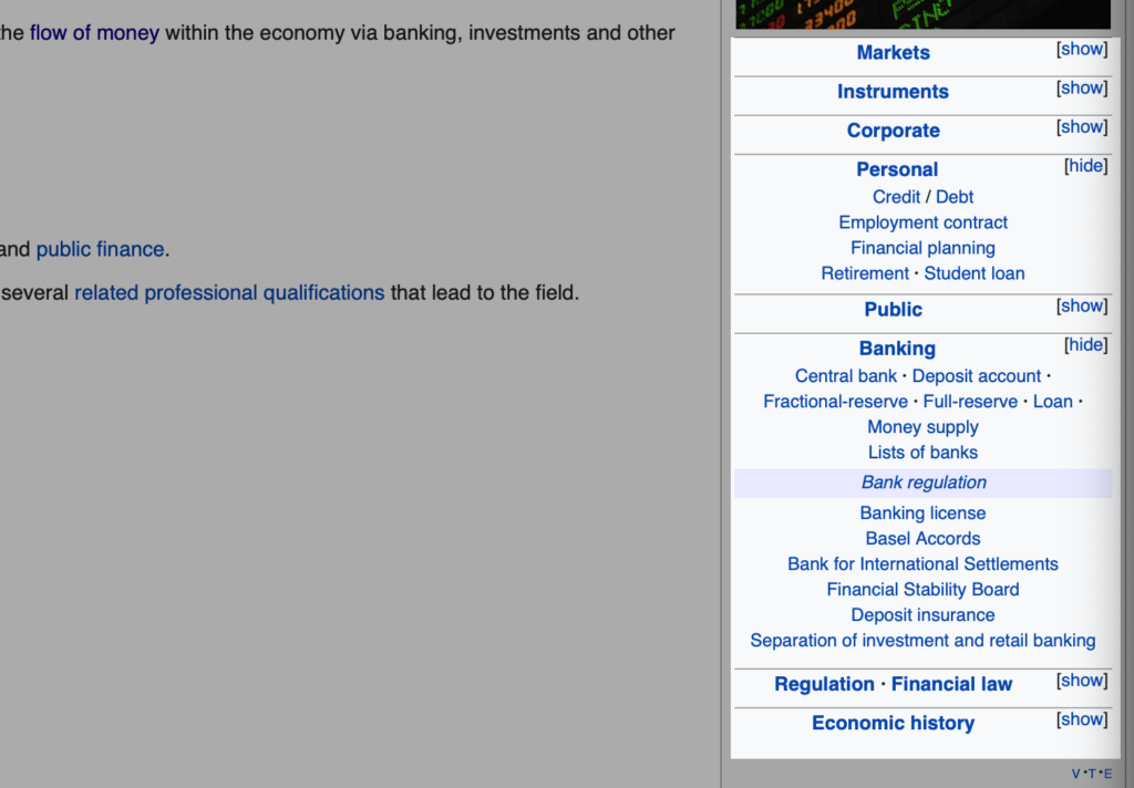 Wikipedia for seed keywords