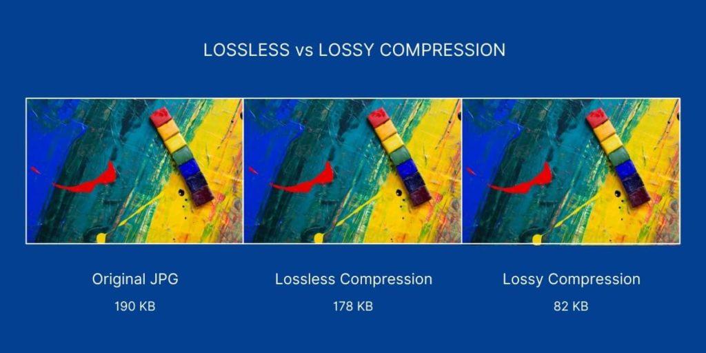 LOSSLESS vs LOSSY COMPRESSION